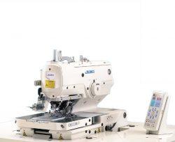 JUKI MEB-3200 Cilpošanas mašīna ar elektronisko vadību figurālas cilpas veidošanai ar divu diegu ķēdītes dūrienu