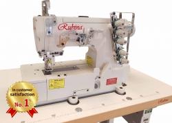 Rubina RB-500-01DCB 356 rūpnieciskā plakanšuves šujmašīna ar plakano platformu