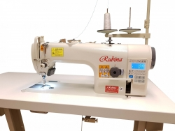 RUBINA RB-9400A-D4  Ātrgaitas vienas adatas rūpnieciskā šujmašīna ar automātiskām funkcijām
