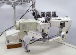 Kansai Special NFS  4-adatu, 6-diegu plakanšuves ķēdes dūriena šujmašīna (flatlock)
