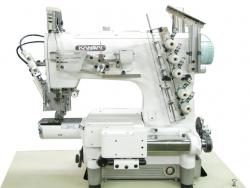 Kansai Special NC plakanšuves ķēdes dūriena šujmašīnas ar cilindrisko platformu
