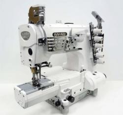 Kansai Special NRE9803 plakanšuves ķēdes dūriena šujmašīnas ar cilindrisko platformu