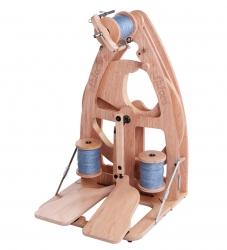 Vērpjamais ratiņš Ashford Joy 2, ar diviem pedāļiem + somu