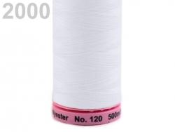 Šūšanas diegi Amann ASPO (krāsa 2000, balts)