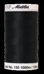 Šūšanas diegi Mettler BOBBINETTE (krāsa 4000, melns)