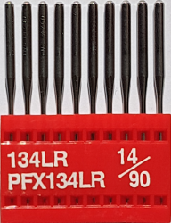 DPx5 LR (134LR) (ādai) NM90 adatas rūpnieciskajai šujmašīnai TRIUMPH (10 gab.)