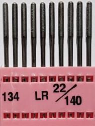 DPx5 LR (134LR) (ādai) NM140 adatas rūpnieciskajai šujmašīnai TRIUMPH (10 gab.)